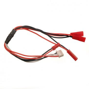 Câble de charge pour 3 Lipo 1S avec prise XH : SR120/mQX/ NEA328