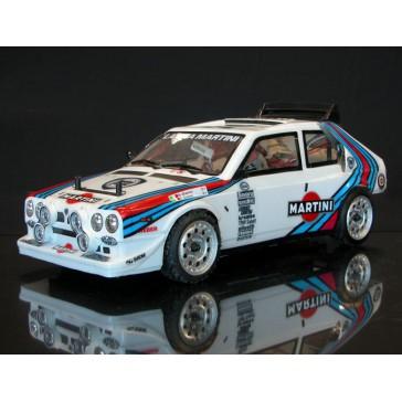 LANCIA DELTA S4 Martini 1986 1/10 RC car ARR Kit