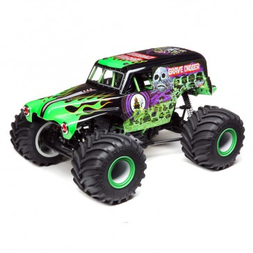 LMT 4wd Solid Axle Monster Truck, Grave Digger RTR