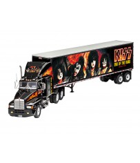 """Gift Set """"KISS"""" Tour Truck """"Rock 1:32"""