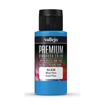 Premium RC acrylic color (60ml) - Blue Fluo