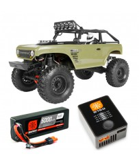 AX90066 1/10 SCX10 II Deadbolt 4WD RTR + Spekt. Smart PowerStage Bund
