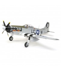 P-51D Mustang 1.2m BNF Basic with AS3X and SAFE Select with AR631 Rec