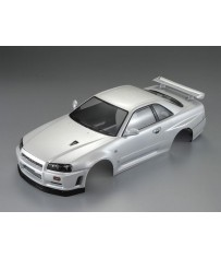 Nissan Skyline R34 195mm, pearl-white finished, RTU all-in