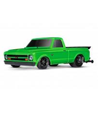 Traxxas Drag Slash 2WD TQi TSM (no battery/charger), Green