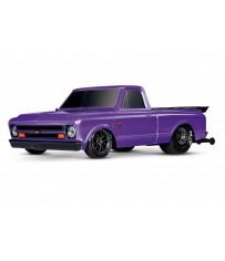 Traxxas Drag Slash 2WD TQi TSM (no battery/charger), Purple