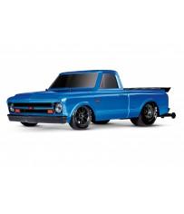 Traxxas Drag Slash 2WD TQi TSM (no battery/charger), Blue