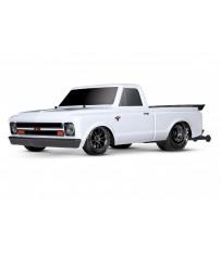 Traxxas Drag Slash 2WD TQi TSM (no battery/charger), White