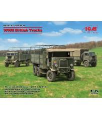 WWII British Trucks (3 Veh) 1/35