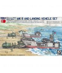 ROC LCT Mk6 & Land. Veh. Set 1/350