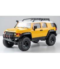 1/18 Toyota FJ Cruiser scaler RTR car kit - Yellow