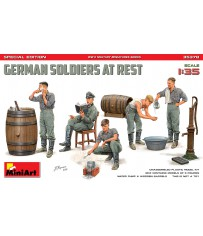 German Soldiers at Rest SP.Ed. 1/35