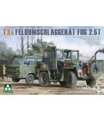 T3+ Feldumschlaggerät FUG 2.5t 1/35