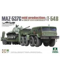 Semi-Trailer mid & T54B 1/72