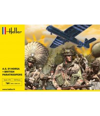 A.S. 51 Horsa + Paratroopers 1/72