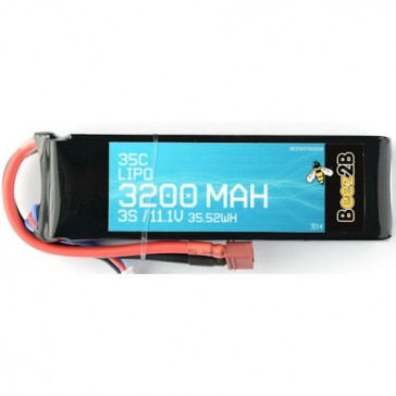 3S 11.1v 3200mAh 35C Lipo Battery (22 x 44 x 135mm - 280g)