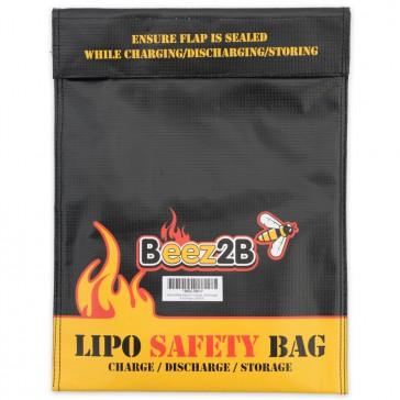 Lipo safety bag for charge, discharge & storage (250x330mm)