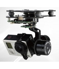 DISC.. Brushless Gimbal DYS 3 axis GoPro3 (w/ AlexMos Ctr Board)