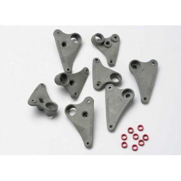 Rocker arm set, progressive-2 (90-T)/ spacers (red aluminum)