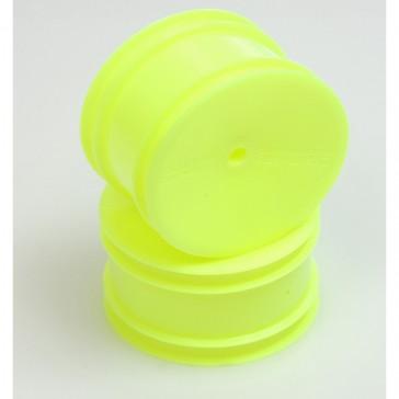 Wheel: Rear Fluro Yellow 2WD/4WD pin drive  pr