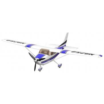 Plane 1400mm Cessna 182 AT Blue (5ch ver.) PNP kit