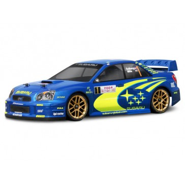 SUBARU IMPREZA WRC 2004 BODY (190MM/WB255MM)