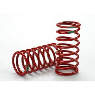 Spring, shock (red) (GTR) (3.5 rate green) (std. rear 90mm)