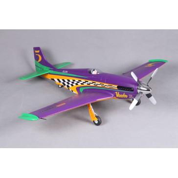 DISC.. Avion 1070mm P-51 Voodoo (haute vitesse) kit PNP