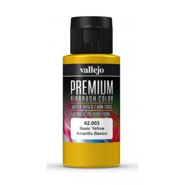 Premium RC acrylic color (60ml) - Basic Yellow