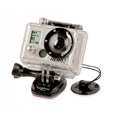 Camera Tethers 2 adhesive mounts with tethers to secure your GoPro
