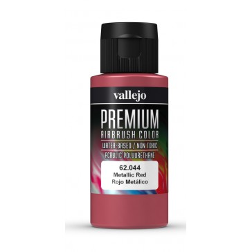 Premium RC acrylic color (60ml) - Metallic Red