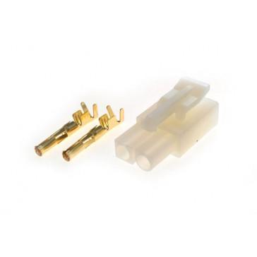 Connector : female TAMIYA plug (1pcs)