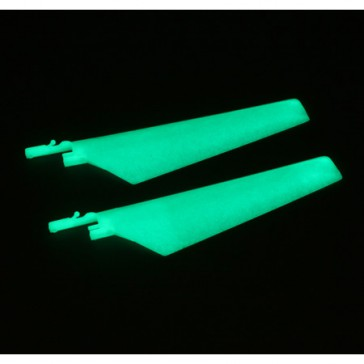 DISC.. Upper Main Blade Set:Glow in the Dark (1 pr): BMCX