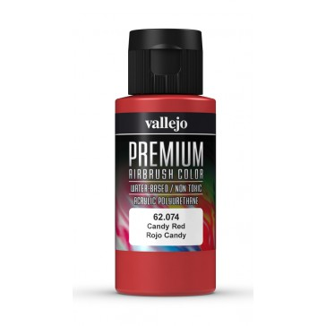Premium RC acrylic color (60ml) - Candy Red