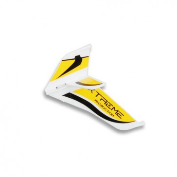 DISC.. Tail Fins-type A Yellow (Eflite MCX)