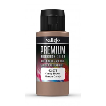Premium RC acrylic color (60ml) - Candy Brown