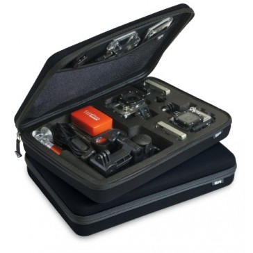 DISC.. POV Case GoPro 3.0 black large Fits two Camera and accesoiries