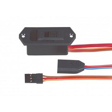 Switch harness black/w. charge MPX battery (UNI)