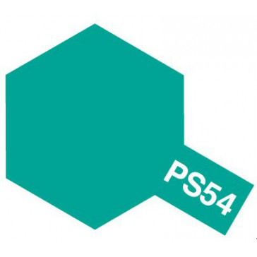 Polycarbonate Spray - PS54 cobalt green