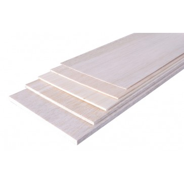 Planche BALSA 1000 x 100 x  4   mm