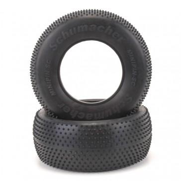 Short Course Tyre - Mini Pin - Blue (pr)