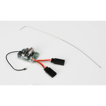 DISC.. 27MHz AM Receiver with 3-Wire Connector: Micro