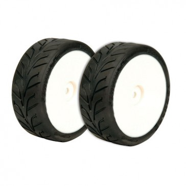 VTEC Radial D20 Rain Dunlop Tires Pre-Glued & Mounted