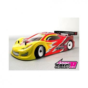 DISC.. F1-GT Mini Touring Lexan Body Shell (For 1/10 Mini Touring)