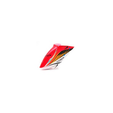 DISC.. Pre-Painted Canopy Type B RED (w/ Tail Fin Sticker) (MPCX)