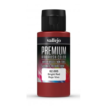 Premium RC acrylic color (60ml) - Bright Red