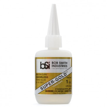 Super-Gold Cyanoacrylate Thin Foam Safe Odorless 28g (1 oz)