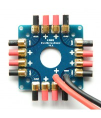 Power distribution board for Drones (8x 30Amp 3,5mm bullet outputs)