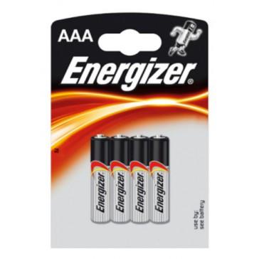 4 Batterijen Energizer AAA