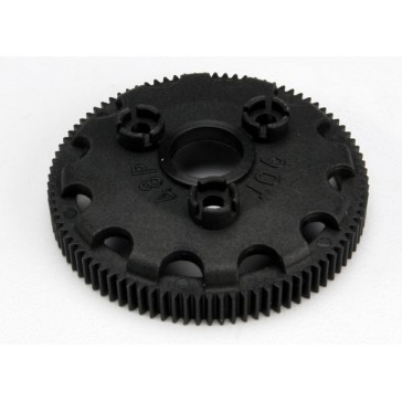 Spur gear, 90-tooth (48-pitch) (for models with Torque-Contr